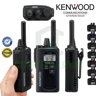Kenwood TK-3601D Light Weight License Free PMR446 Compact Business Radio