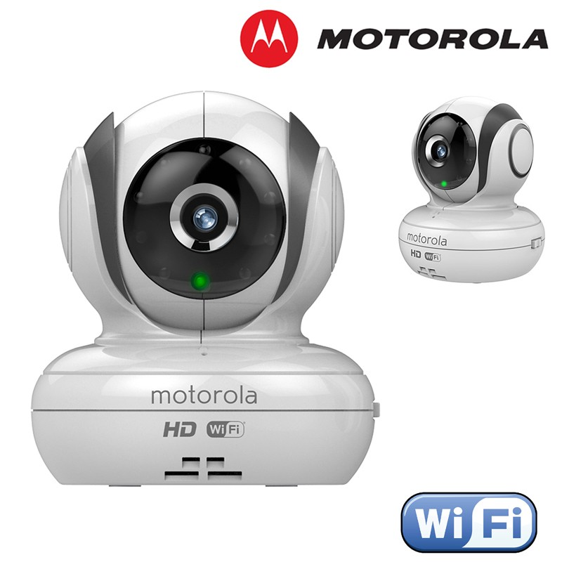 Motorola Blink83 Hd Wi Fi Remote Digital Audio Video Baby Monitor Home Security Camera on two way radios for cars