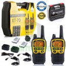 12km Midland XT70 Adventurer 2 Two Way Walkie Talkie PMR446 Radio Travel Pack