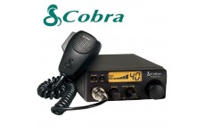 COBRA 19DX IV EU Version Fixed LCD AM FM Multi Band CB Radio Transceiver & Handheld Mic with Comtech CM-750PK Inverter