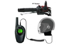 Pama HM-100 PTT/VOX Open Face Motorbike Motorcycle Intercom Headset for Cobra 2 Two Way Radios