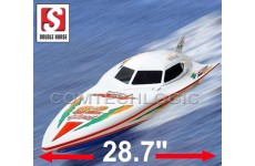 "28"" Double Horse 7000 Wing Speed Remote Radio Control RC Fast Speed Boat EP RTR"