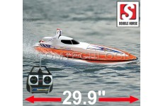 "Double Horse 7007 Flying Fish Remote Control Racing Speed Boat - RTR  29.9""  Long"