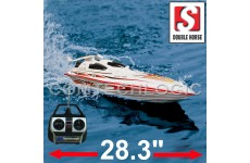 "Double Horse 7008 Bluestreak Remote Control Racing Speed Boat - RTR  28.3""  Long"