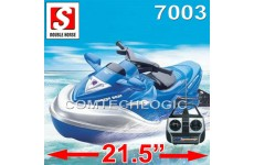 "21.5"" Double Horse 7003 Remote RadioControl RC Speed Jet Ski Boat RTR"