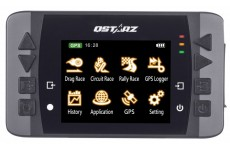 "Qstarz LT-Q6000S CX 2.4"" LCD 10Hz GPS Data Logger and Racing Track Lap Timer for Cars"