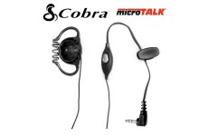 Comtech CM-16PT Over Ear Handsfree Headset with PTT Button for Cobra Radios