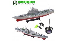 1:275 Scale Disintegrate Aircraft Carrier Rc Radio Remote Control Simulation Ship EP RTR