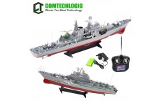 1:275 Scale Disintegrate Battleship Destroyer Rc Radio Remote Control Simulation Ship EP RTR