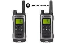 10Km Motorola TLKR T80 Walkie Talkie 2 Two Way Radio - Twin