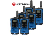 4Km Motorola TLKR T41 Walkie Talkie 2 Two Way PMR 446 Compact Radio Set - Six
