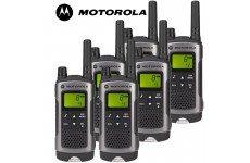 10Km Motorola TLKR T80 Walkie Talkie 2 Two Way Radio - Six