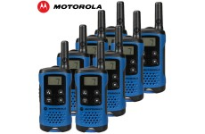 4Km Motorola TLKR T41 Walkie Talkie 2 Two Way PMR 446 Compact Radio Set - Eight