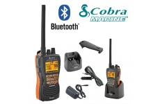COBRA MR HH600 FLT BT EU Version Bluetooth Handheld VHF Marine LCD Submersible Floating Radio
