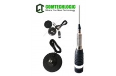 "Comtech CM-3000ANT 4.5 Feet CB 7"" Mag Mount Antenna Kit with 3.6m RG58 Cable and PL259 Connector for CB Radios"