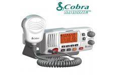 COBRA MR-F57W E Fixed Marine VHF Radio UK Specification & Chanels 2 Way Boat - WHITE