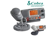 COBRA MR F77 Fixed Marine VHF Radio UK With GPS E Specification & Chanels 2 Way Boat