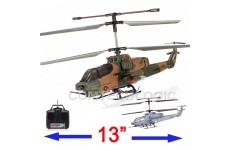 Syma S036G 3 Channel RC AH-1 Cobra Marines/Army RC Helicopter with Gyro