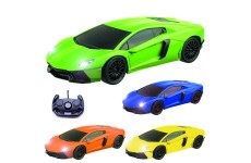 Comtechlogic® CM-2176 1:16 Lamborghini Aventador Style Radio Controlled RC Electric Car - Ready to Run EP RTR