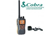 COBRA MR HH350 EU Version Handheld VHF Marine LCD Floating Submersible Radio