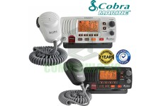 COBRA MR-F57B E Fixed Marine VHF Radio UK Specification & Chanels 2 Way Boat - BLACK