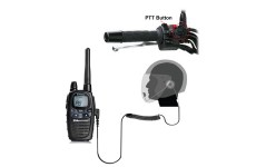 HM-1000 Open Face Motorbike Intercom Headset For Midland Radio G5 G6 G7 G7 PRO G7E G8 G8E G9 G12 M99 HP250 2A