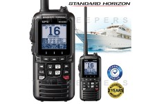 Standard Horizon HX890E Class H DSC Handheld VHF Marine Radio With GPS - Black