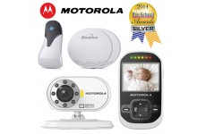 Motorola MBP26 Sensor Mat Bundle Remote Digital Video Audio Baby Monitor