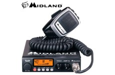 Midland 78 Plus 80 Channel AM FM Multi Band CB Transceiver Radio with Microphone