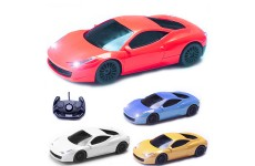 Comtechlogic® CM-2175 1:16 Ferrari 458 Italia Style Radio Controlled RC Electric Car - Ready to Run EP RTR