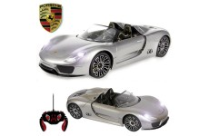 Official Licensed CM-2150 1:14 Porsche 918 Spyder Radio Controlled RC Electric Car - Ready to Run EP RTR