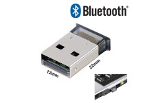 Bluetooth USB Dongle Adaptor for Desktop PC Laptop Dell Toshiba Acer Fujitsu HP