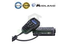 Midland M5 Alan Multiband AM/FM 4w 40Ch Compact 7 Colour Display USB CB Radio