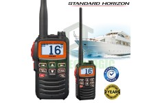 Standard Horizon HX-40E Ultra Compac Marine Radio with FM broadcast Receiver