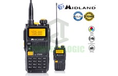 Midland CT590S 5w VHF/UHF Amateur Entry Level Ham Radio 3 Colour LCD Display