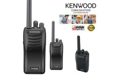 Kenwood TK-3501T PMR446 UHF Portable License Free Transceiver