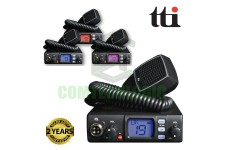 TTI TCB-560 Dynamic Squelch DSS AM/FM 4W 80Ch 12-24V Tri Colour Display CB Radio