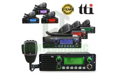 TTI TCB-1100 DSS 4W 40 Channel AM/FM Operation CB Radio With Built in Speaker