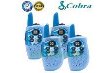 Cobra Hero Police HM230B Kids Walkie Talkie 2Two Way PMR 446 Radio Quad Pack