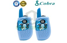 Cobra Hero Police HM230B Kids Walkie Talkie 2Two Way PMR 446 Radio Twin Pack