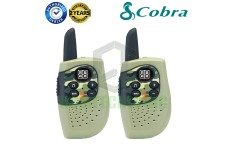 Cobra Hero Military HM230G Kids Walkie Talkie 2Two Way PMR 446 Radio Twin Pack