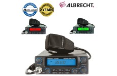 Albrecht AE-5890EU All Mode 7 Colour Display with 10m/12m 40ch AM/FM CB Radio