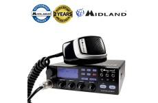 Midland 48 Plus Multi Region 40UK/EU Channel AM/FM 4w 12V UK EU CB Mobile Radio