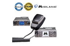 Midland M-30 Fully featured Colour TFT Screen 12-24v AM/FM 40Ch CB Mobile Radio