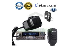 Midland M-10 AM/FM NBS 40Ch Mobile CB Radio + Bluetooth WA-Dongle & WA-MIKE