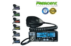 President BARRY AM FM ASC 12/24V 40FM + FM UK 12/24v CB radio