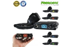 President BILL ASC Compact CB radio with USB charge port