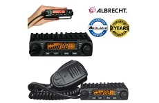 Albrecht AE-6110 Multi Region 40UK/EU AM/FM 4w Compact Mini Mobile CB Radio