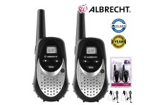 Albrecht TecTalk Smart Plus Walkie Talkie Two Way PMR 446 Leisure Radio Twin