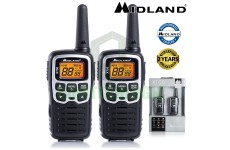 8km Midland XT50 License Free 2 Two Way Walkie Talkie PMR446 Radio Twin Pack UK